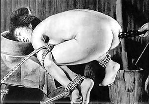 Slaves to cable japanese art unusual bondage extreme sadomasochism distressful cruel castigation oriental fetish
