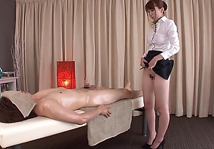 Subtitled common Japanese unfathomable massage Yui Hatano