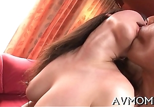 Close-fisted vagina milf can't live without sex-toys