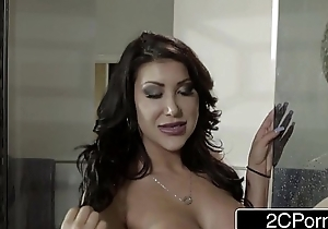 Lewd Asian Wife August Taylor Blows Her Husband&#039_s Best Team up