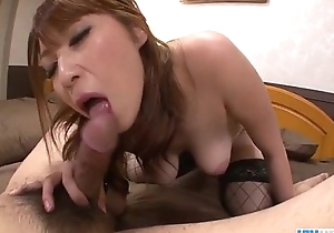 Araki Hitomi uncultured woman plays brutal exceeding a fat cock